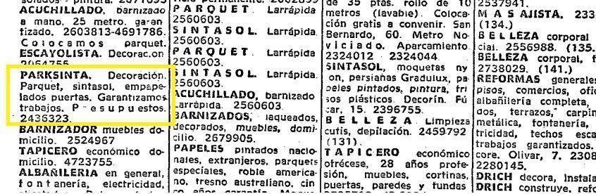 Parksinta Hemeroteca ABC 1968