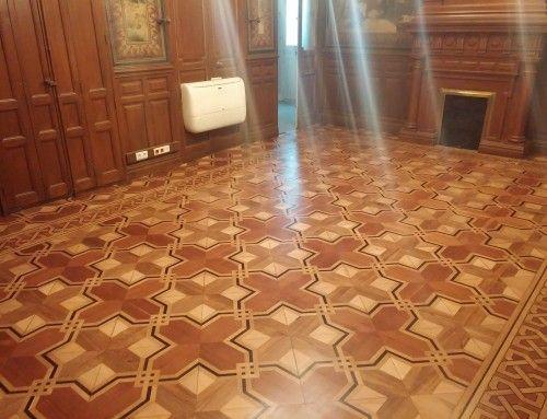 Restauración Parqué Clásico y Tarima – Velazquez – Retiro – Madrid – 2015