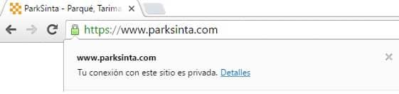 Parksinta HTTPS