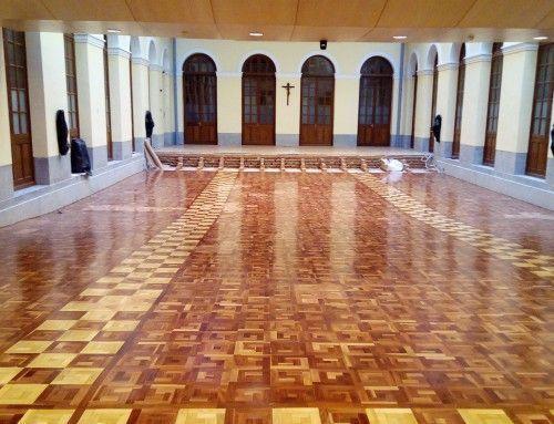 Seminario Conciliar de Madrid – Restauración Lamparquet